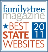 Family Tree MagazineBest State Website 2011