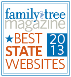 Family Tree MagazineBest State Website 2013