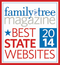 Family Tree MagazineBest State Website 2012